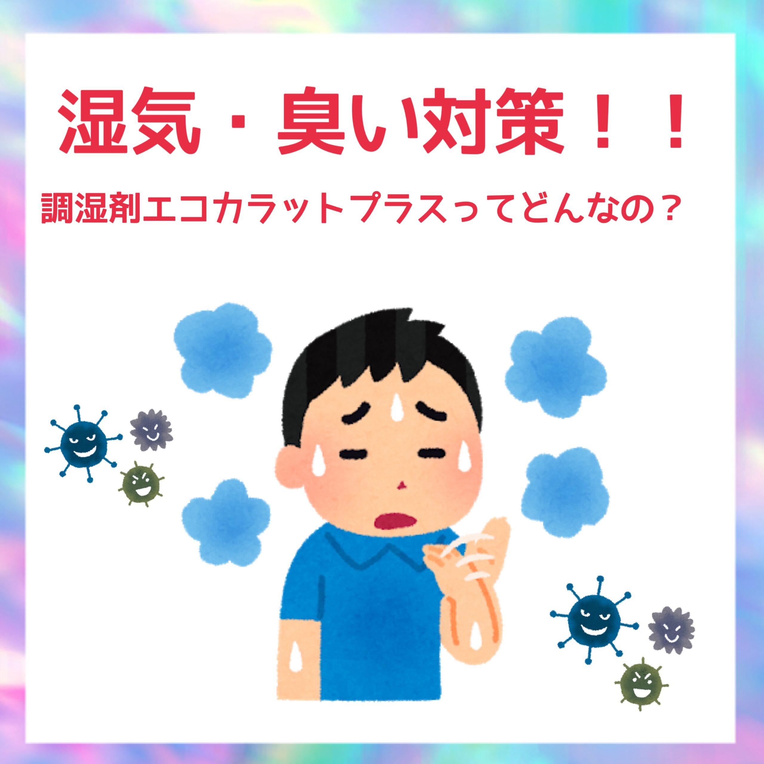 2021.04.28 『湿気・臭い対策』調湿材エコカラットについて